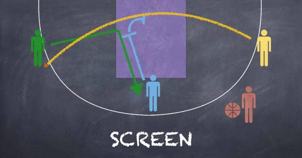 tactique basket screen