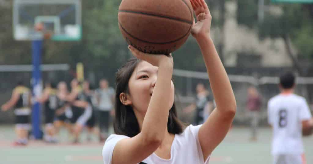 Shoot basket gestuelle