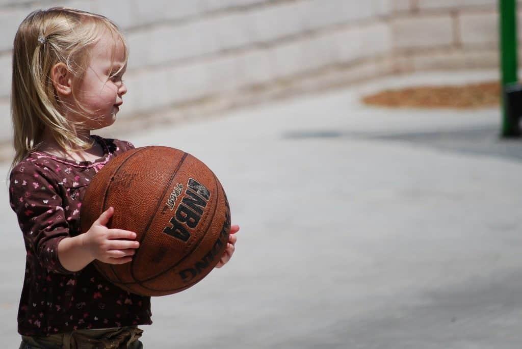 entrainement basket U9 fille