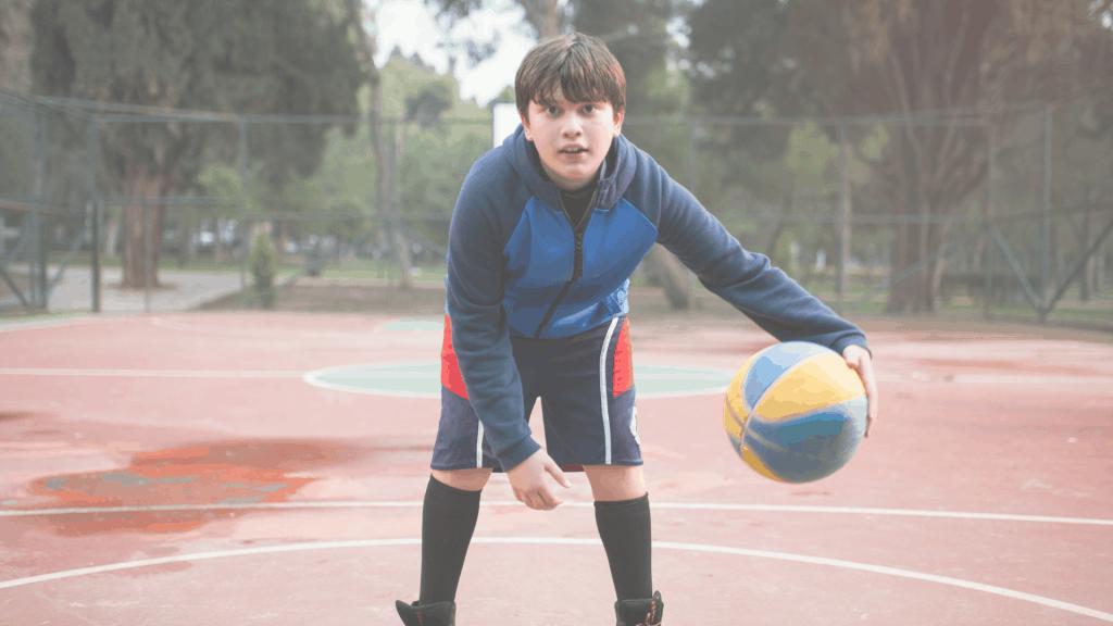 basketball performance enfant
