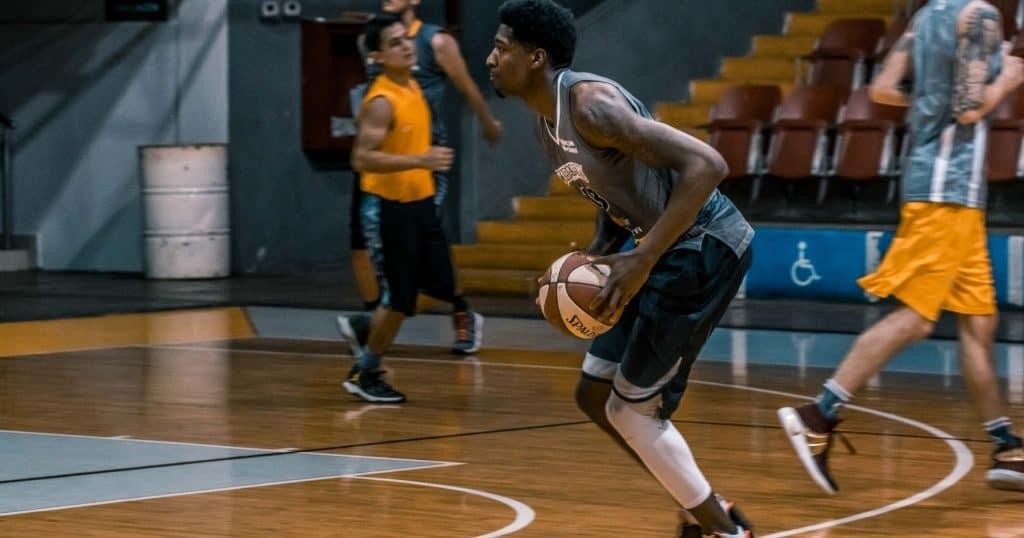 Entrainement basket U17 gars