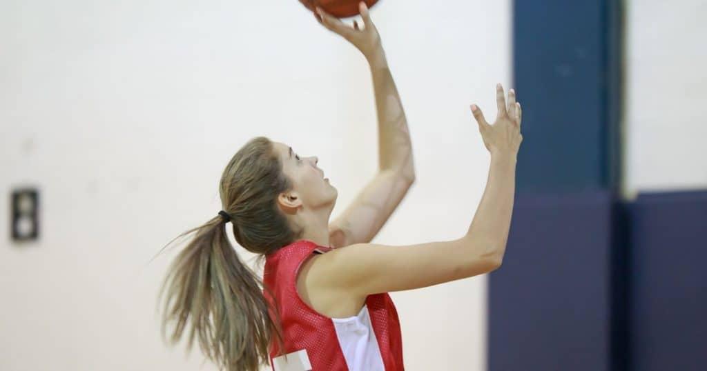 Entrainement basket U17 tir