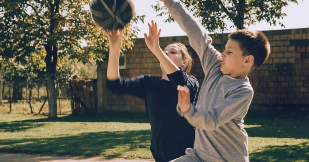 Exercices ludique basket