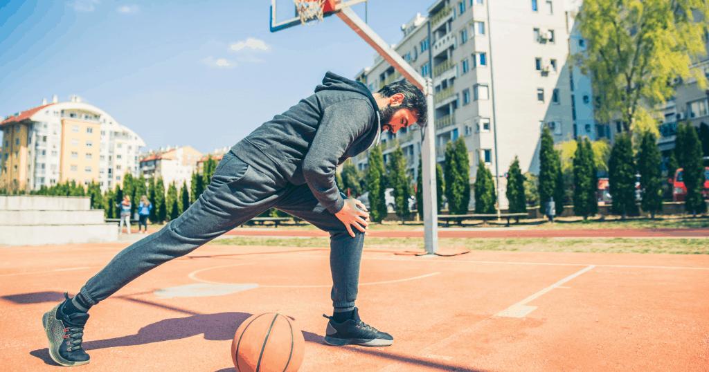 preparation physique basket etirement